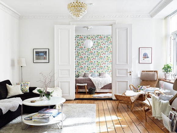 Beautiful apartment on Guðrún Vald. blog